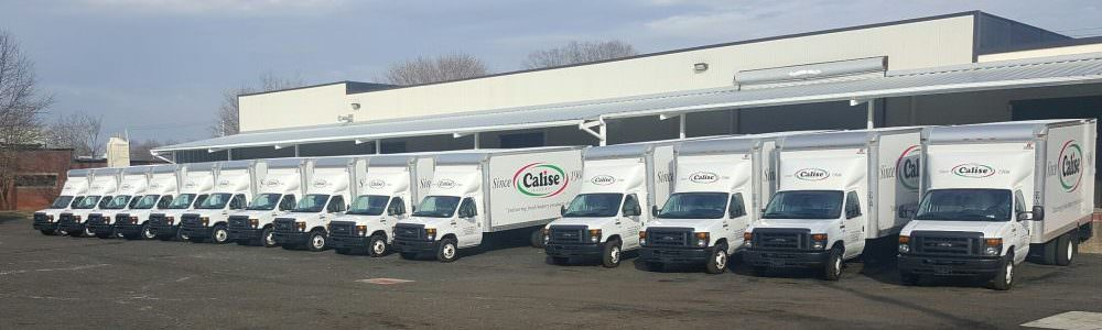 Calise Fleet of Trucks
